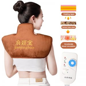 Neck and back massager With Moxibustion Hot Compress Elctric Heated For cervical osteochondrosis Pain Relief Massage Machine