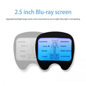 Electric Massager LCD Screen Digital Therapy Machine 8 Mode Body Health For Back Neck Foot Leg health Care