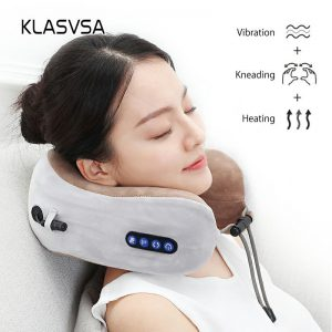 Electric Neck Massager U shaped Pillow Multifunctional Portable Shoulder Cervical Massager Outdoor Home Car Relaxing Massage