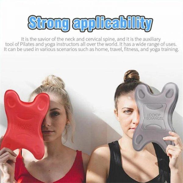 New Neck Massage Pillow Neck Support Stretch Stretcher Neck Head Shoulder Pain Relief Massage Relax Innovative Neck Stretcher