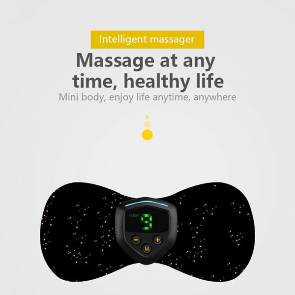 2020 New Cervical Massager Portable Neck Back Massager Electric Neck Massage Patch Rechargeable Intelligent Neck Relaxing Device