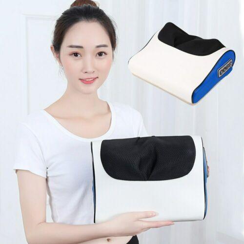 FOUAVRTEL Deep Neck Massager Infrared Heating Neck Massage Pillow Multi-function Finger Pillow Massager Relaxing Head&Neck