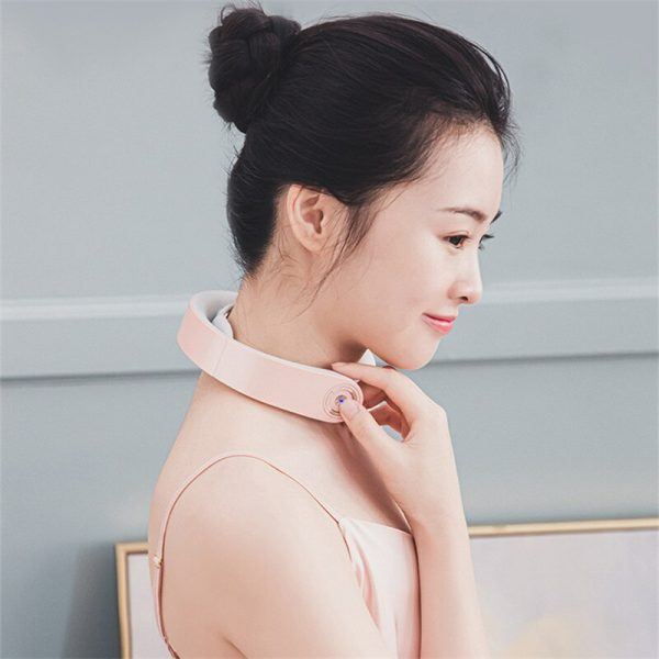 2020 NEW PGG Smart Electric Pulse Neck Massager neck massage Cervical Traction Collar Therapy Pain Relief
